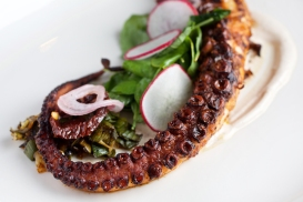 Smoked Octopus